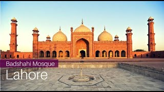 Badshahi Mosque Asian Historical Architecture