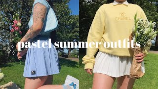 10 Pastel Summer Outfits *on A Size 12*