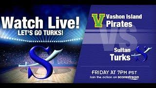 19-20 Lady Turk Basketball vs. Vashon Island