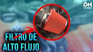 Como Instalar Filtro De Aire De Alto Flujo