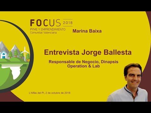 Entrevista Jorge Ballesta, de Dinapsis Operation & Lab en Focus Marina Baixa[;;;][;;;]