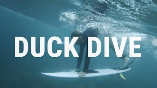 #4 Surfing Intermediate – Duck dive