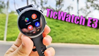 TicWatch E3 Review: Budget Friendly, Next Gen Power, Wear OS!