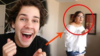 SURPRSING VIEWER IN HOTEL ROOM!! (BLOOPERS)