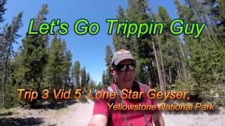 Lone Star Geyser, Yellowstone National Park