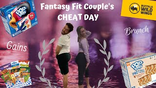 Fantasy Fit Couples Cheat Day// Wings & Brunch