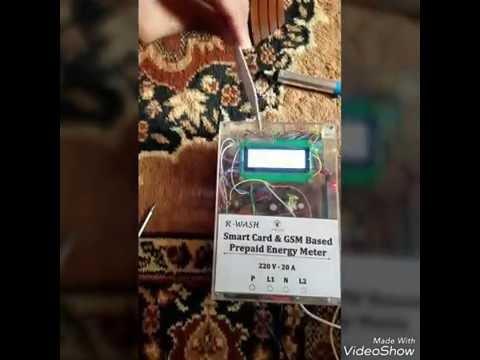 Smart Card & GSM based Prepaid Energy Meter