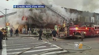 Mosque Gutted By Fire In Bed-Stuy, Brooklyn