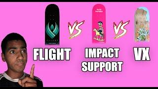 POWELL FLIGHT VS IMPACT SUPPORT VS SANTA CRUZ VX | REVEIW