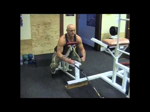 Incline Bench Cable Row (Rope Extension)