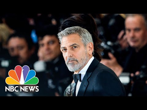 George Clooney Speaks Out Over Child-Labor Claims Involving Nespresso | NBC Nightly News