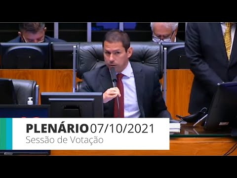 Plenário - PL 4572/19: Regras para propaganda partidária - 07/10/2021*