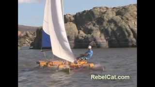 Why Make A RebelCat PVC Pipe Catamaran Sailboat?