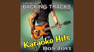 Livin' On a Prayer (Originally Performed By Bon Jovi) (Full Vocal Version)
