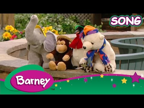 barney singing and dancing with barney