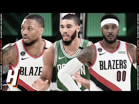 Boston Celtics vs Portland Trail Blazers – Full Game Highlights | August 2, 2020 | 2019-20 Season