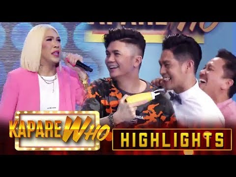 Jhong and Vhong use Ion against Vice | It's Showtime KapareWho
