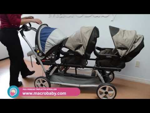 MacroBaby – Peg Perego Triplette Stroller