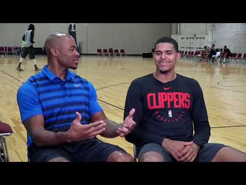 Tobias Harris sits down with Corey Maggette