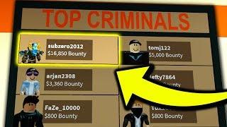 Most Bounty Ever Roblox Jailbreak Minecraftvideos Tv