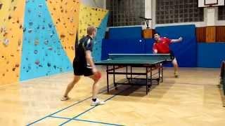 preview picture of video '4. liga: Michal Zachar vs. Maroš Beťák (stolný tenis)'