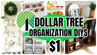 DOLLAR TREE HIGH-END ORGANIZING DIYS AND HACKS will leave you shocked