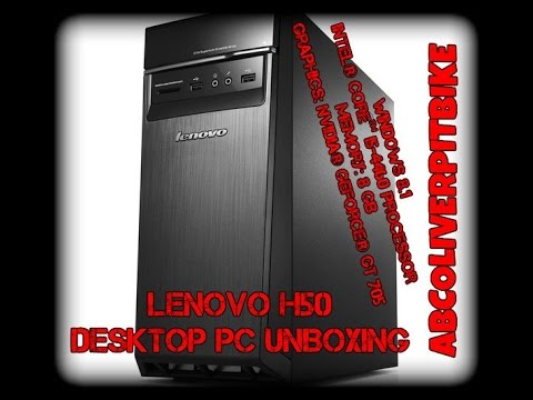 LENOVO H50 Desktop PC (UNBOXING)