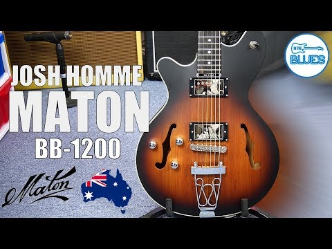 Maton BB 1200 JH Josh Homme Signature Electric Guitar Review