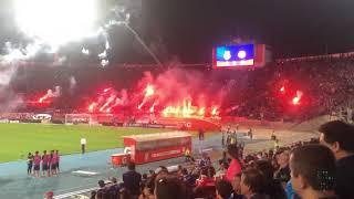 Universidad De Chile Vs Calera 2019/fuegos Artificiales (santiago,estadio Nacional 07/04/19)