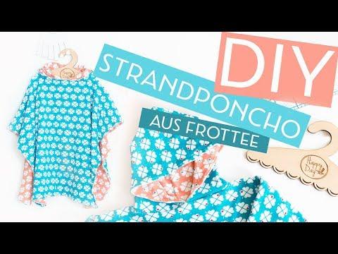 DIY: Kinder-Strandponcho nähen