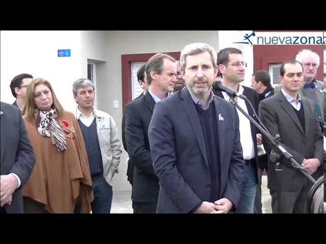 La palabra del Ministro Frigerio, en su visita a Viale