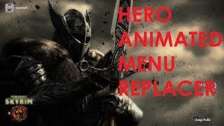 Skyrim Special Edition Mod Review Hero Animated Menu Replacer