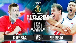 Russia vs. Serbia | Highlights | Men