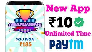 Minimum Redeem 10 Rupees Paytm Cash instant || New Earning App 2020 Wthout Investment