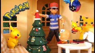 Pokemon !「pikachu's Christmas」ピカチュウたちのクリスマス!