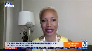 Top 5 Rules for Engagement in the Workplace (KTLA-5, The CW Live #1 Morning New Show)