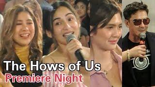 The Hows of Us STAR-STUDDED Premiere Night Kathryn Bernardo & Daniel Padilla KATHNIEL