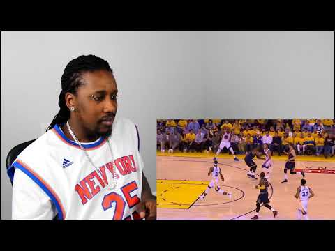 Top 10 NBA Celebrity Reactions - The Starters REACTION!