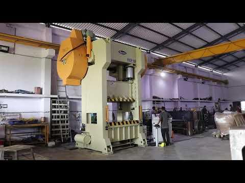 Single Action Press Machine