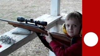 Les armes pour enfants, habituel dans l'Amérique rurale