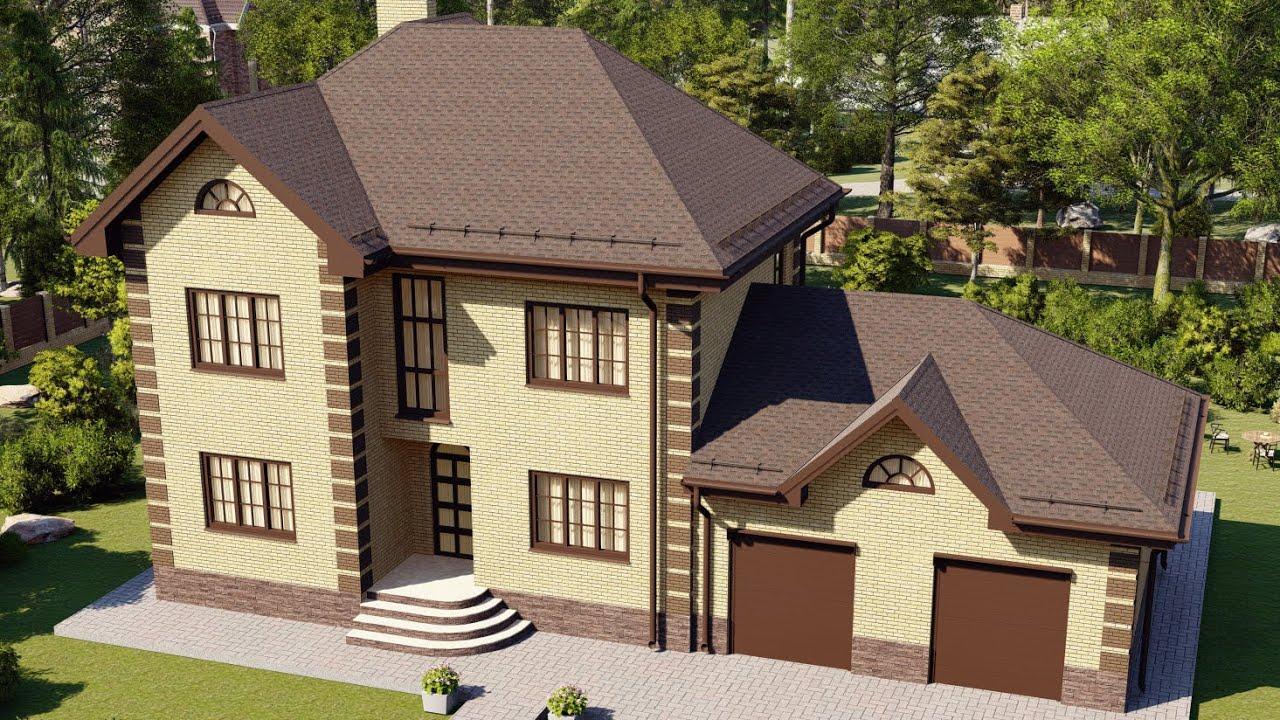 Комфортный дом для загородной жизни с большим гаражом