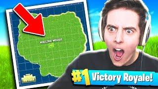 ONLY WAILING WOODS!! - Fortnite: Battle Royale