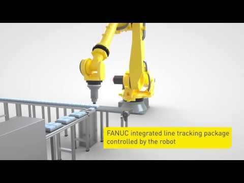 Intelligent robot accessories from FANUC - Line tracking