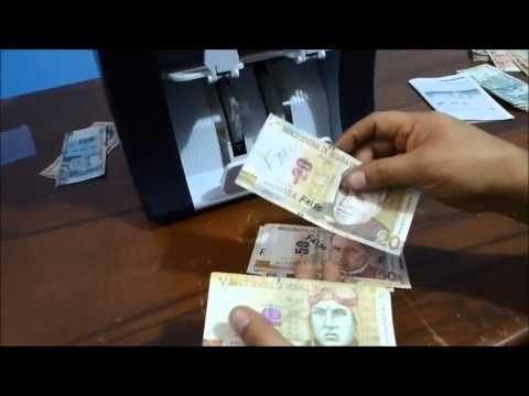MAQUINA CONTADORA DE BILLETES EN PERU