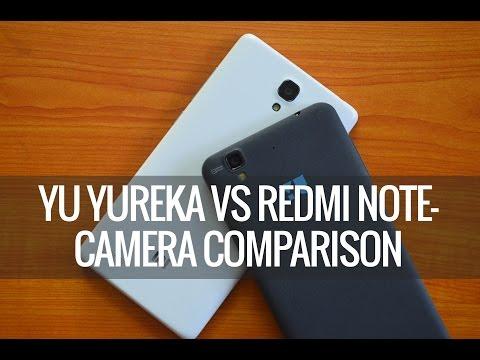 Yu Yureka vs Xiaomi Redmi Note- Camera Comparison