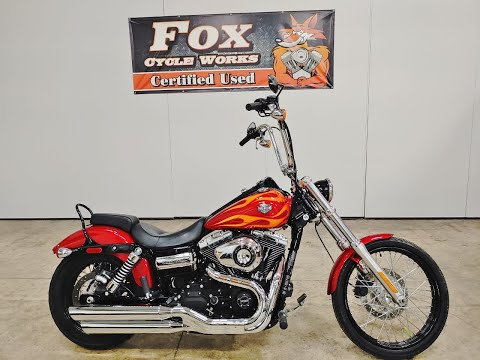 2012 Harley-Davidson Dyna® Wide Glide® in Sandusky, Ohio - Video 1