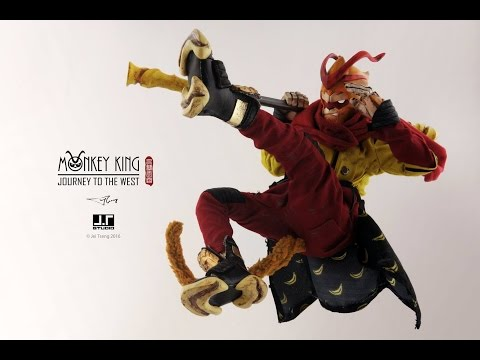J.T studio 齊天大聖-大鬧天宮 Monkey King Wreaks Havoc 開箱