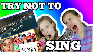 HILARIOUS SISTERS REACTION TRY NOT TO SING ALONG BOOGIE CHALLENGE! IMPOSSIBLE!