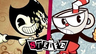 Bendy VS Cuphead   STRIFE!!