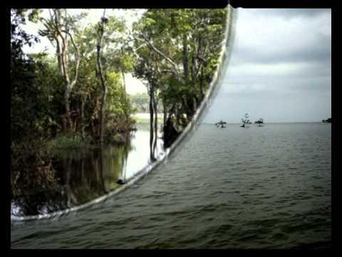 Música Ao Longo de Um Claro Rio de Água Doce